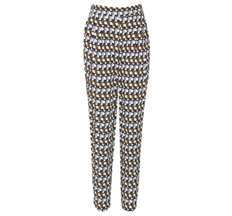 Cat Print Pants - Farbe: multi