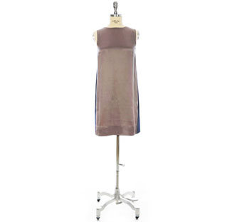 Bianca Sleeveless Shift - Farbe: golden brown